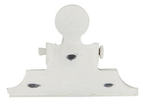 Klammer Weiß magnetisch