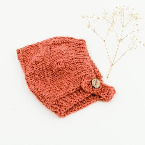 Mütze aus Strickgarn