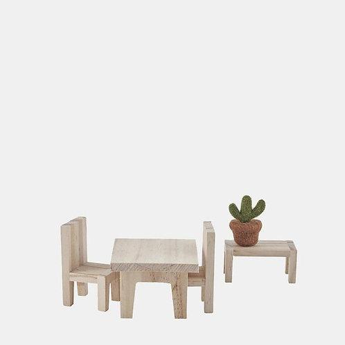 Olli Ella - Puppenmöbel Tisch-Set