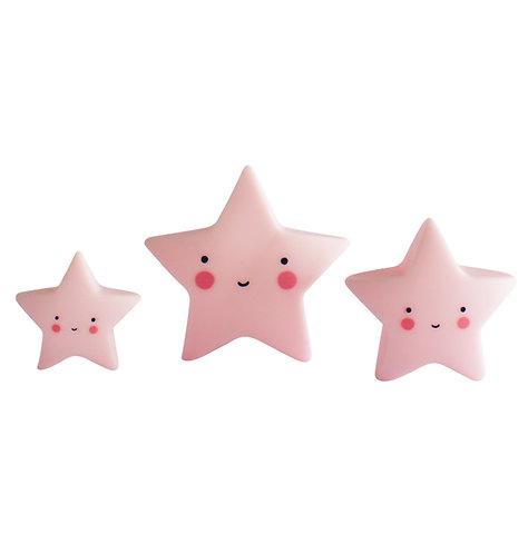 Mini Kollektion: Sterne rosa