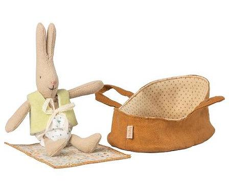 Kaninchen in Tragetasche - Maileg