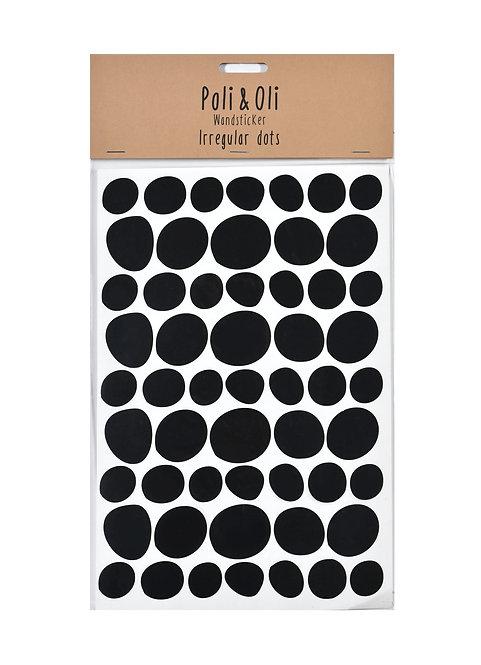 Poli & Oli - Wandstickers Irregular Dots