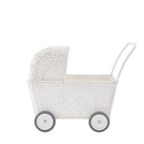 Olli Ella - Puppenwagen Strolley Weiss