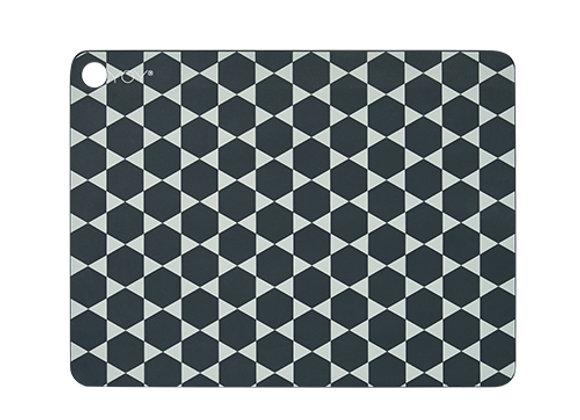 OYOY - Tischunterlage dark grey 2 Stück/Set