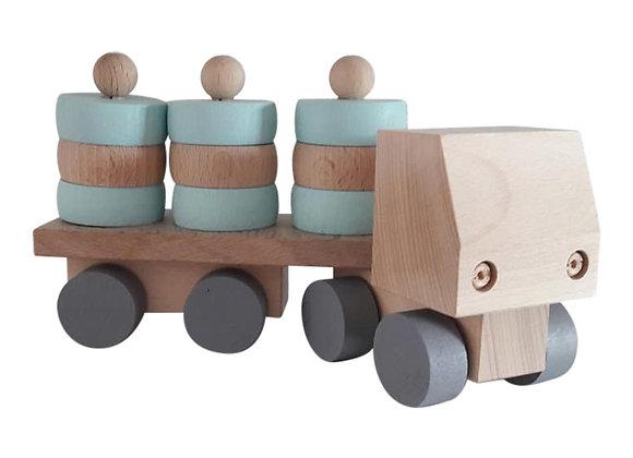 Kids Boetiek - Holz Truck mint