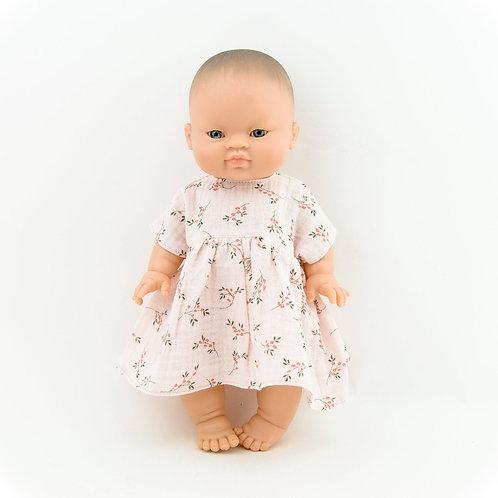 Musselin-Kleid