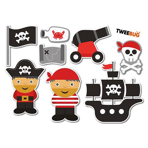 Yumbox Sticker Pirat