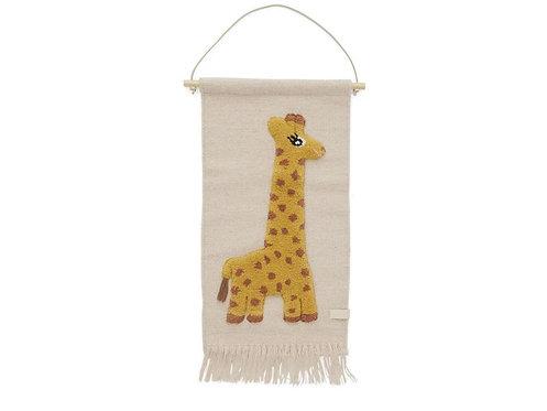 Wandteppich Giraffe OyOy