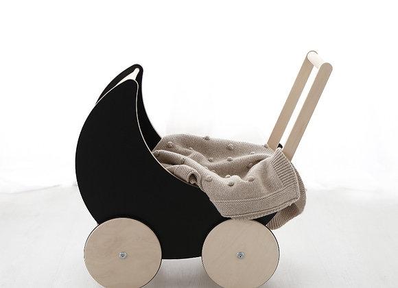 Ooh Noo - Puppenwagen Black