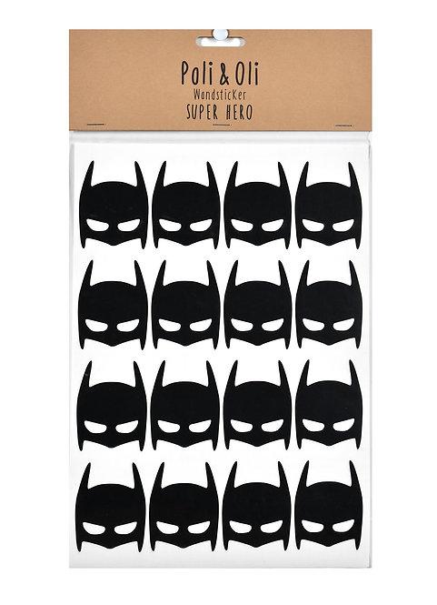 "Poli & Oli - Wandstickers ""Batman"""