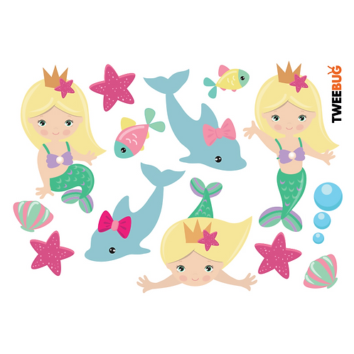 Yumbox Sticker Meerjungfrau