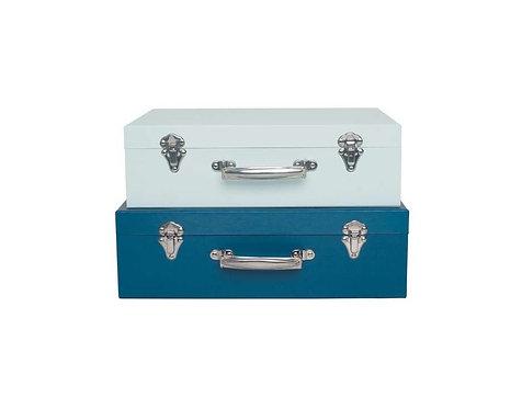 Jabadabado - Koffer Set Blau