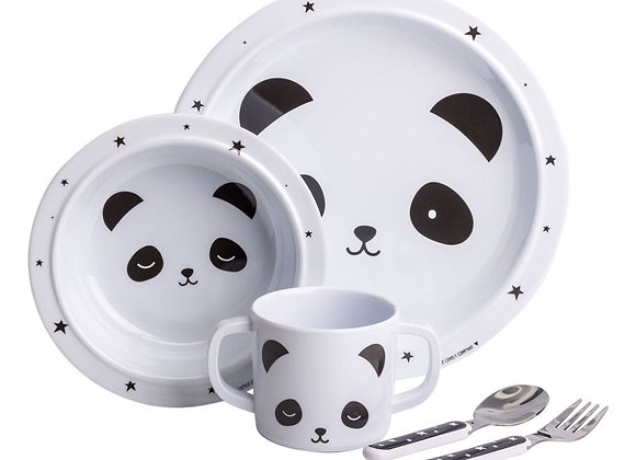 a Little Lovely Company - Dinner-Set Panda