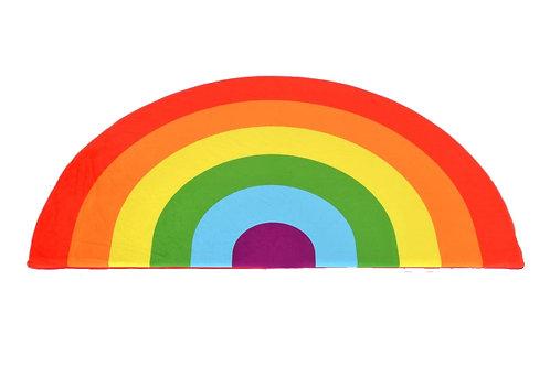 Kids Boetiek - Spielmatte Regenbogen rot