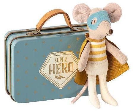 Superhero Maus im Koffer von Maileg