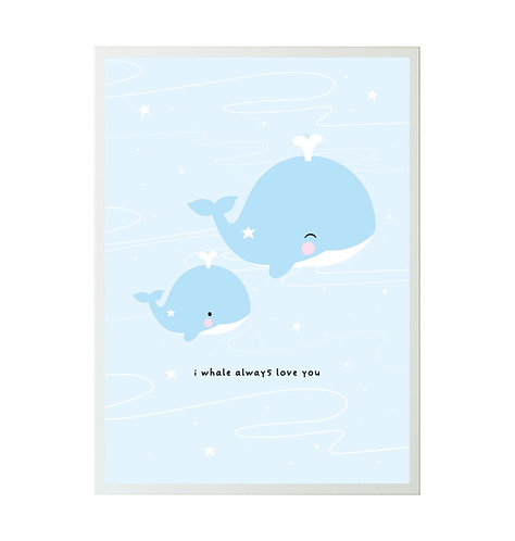 A little Lovely Company - Poster Wal 50x70