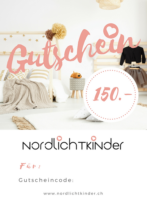 NordlichtKinder - Gutschein 150.-