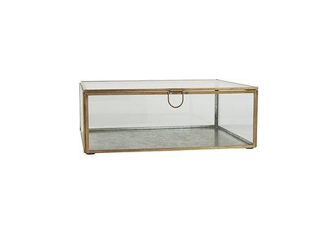 Glasschachtel mit Deckel XL