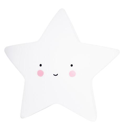 Little light: Stern in weiss