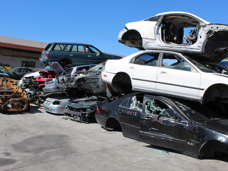 Find the Part You Need at the Local Wrecking Yard