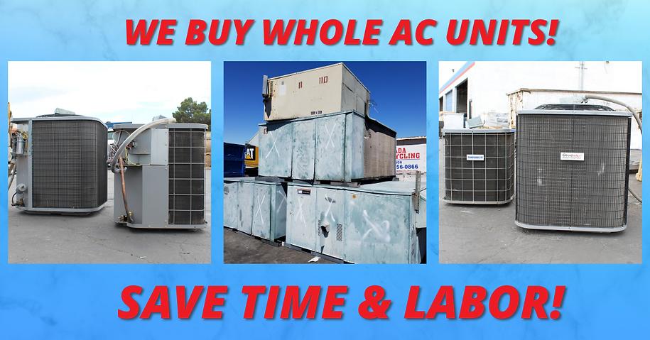 We Buy Whole Units!