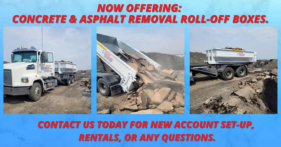 Concrete Removal Boxes For Rent