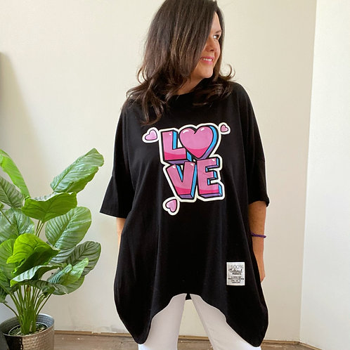 LOVE TOP - BLACK