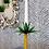 Thumbnail: CAST IRON SMALL PALM TREE CANDLESTICK