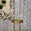 Thumbnail: LARGE GLASS DOME ON METAL BIRDS FEET BASE
