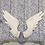 Thumbnail: PAIR OF ANTIQUE WHITE ANGEL WINGS WALL DECOR