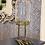 Thumbnail: SMALL GLASS DOME ON METAL BIRDS FEET BASE
