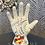 Thumbnail: CERAMIC LOVE HATE TATTOOED PALMISTRY HAND