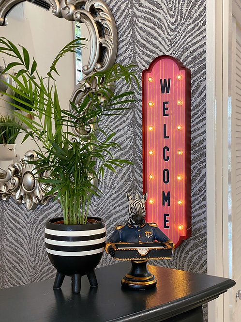 LIGHTUP WELCOME SIGN