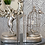 Thumbnail: ANTIQUE SILVER CURIOUS CAT PAIR OF BOOK ENDS