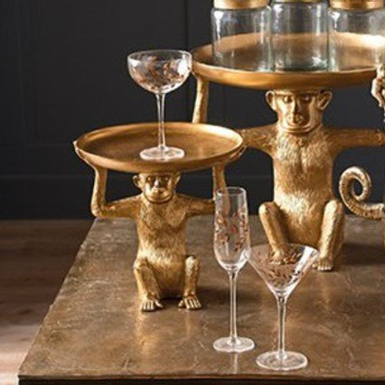 GOLD MONKEY STAND