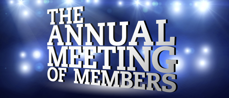 annual meeting of  members