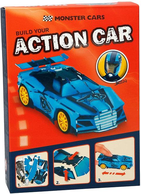 MONSTER CARS 3D PUZZLE-1-6357