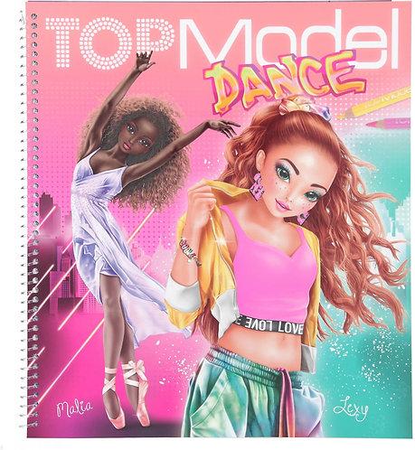 CARTE DE COLORAT DANCE TOP MODEL-1-11453