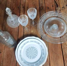 Vaisselles vintage divers - plusieurs quantités