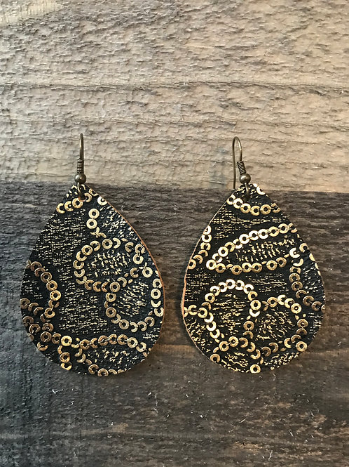 Gold Chain Earring- Small