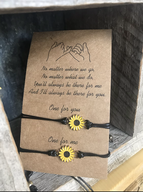Sunflower Friensdhip Bracelet