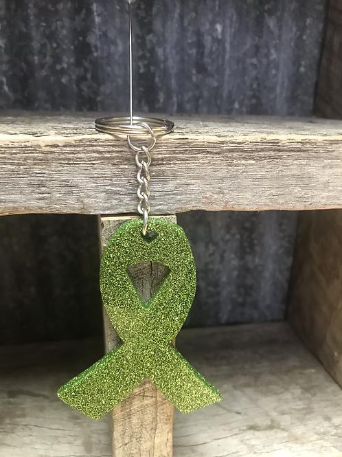 Ribbon keychain