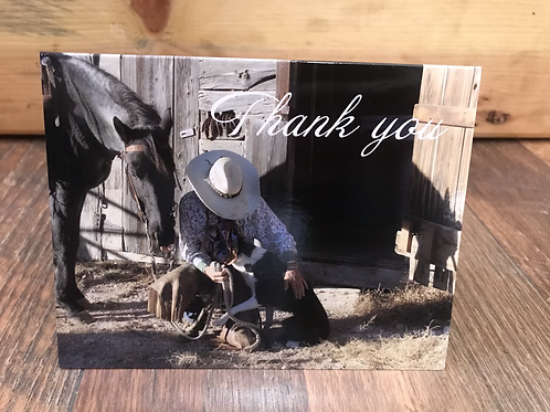 Thank you cards -set of 5