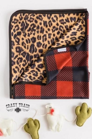 Winter Woven Blanket - Kid Size