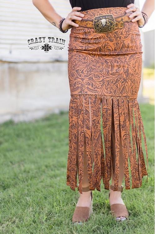 Lonestar Fringe Skirt