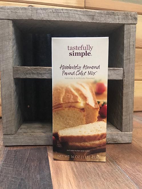 Absolutely Almond Pound Cake mix