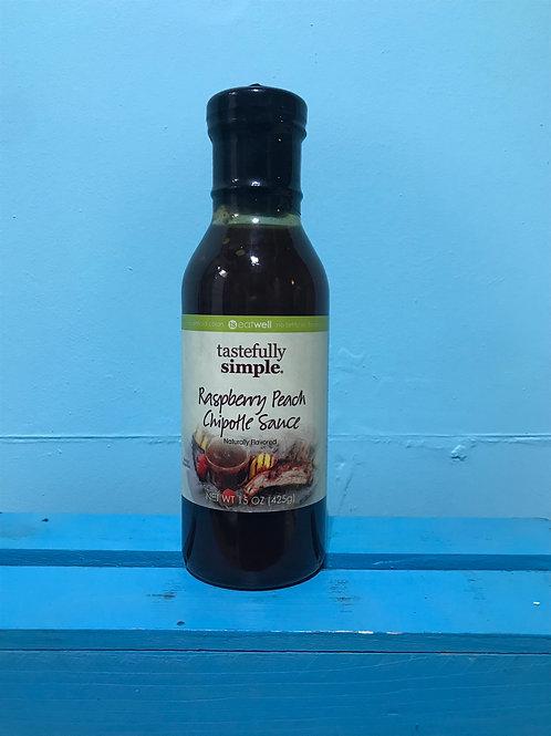 Raspberry Peach Chipotle Sauce