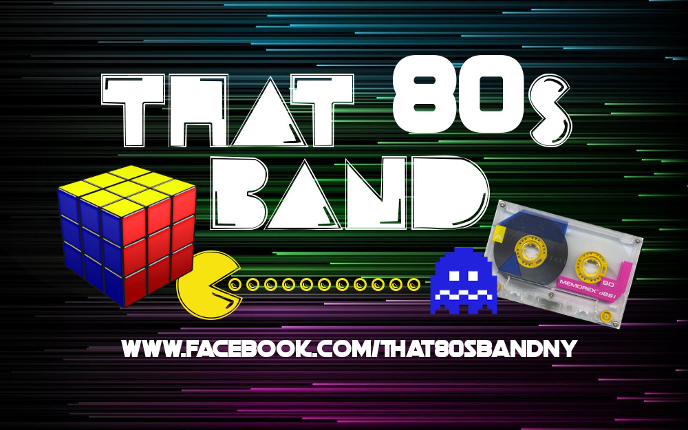 80s Band Banner - 8x5