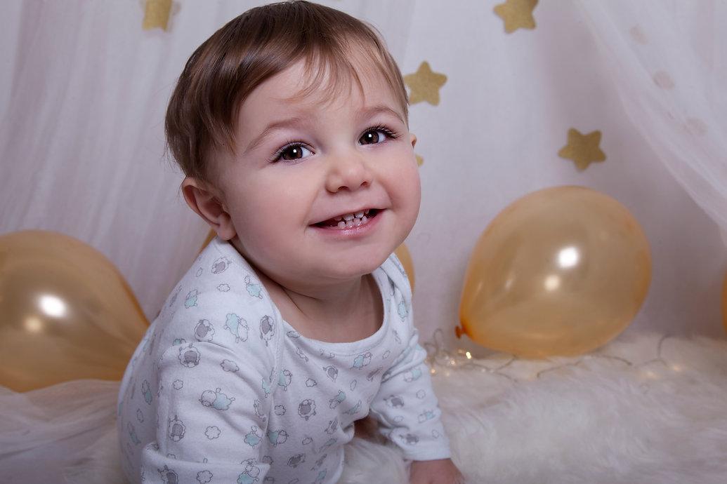 fotografia de bebes  1 año cake smash