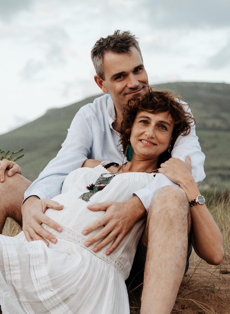fotografia de embarazo en naturalez